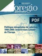20ères années de la politique de cohésion