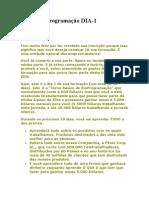 Curso BioProgramação DIA 1