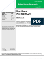 ReachLocal update 8.8.11