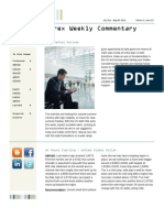 FX Weekly Commentary July 31 - Aug 6 2011 -Elite Global Trading