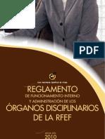 Reglamento Organos Disciplinarios 2010