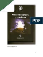 MAS ALLA DE MENTE Y CONDUCTA José Del Grosso