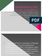La Experimentacion Humana en La Bioetica