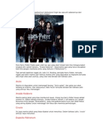 Arti dari Mantera-Mantera Harry Potter