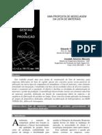 Manufatura - Bill of Material