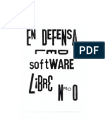 En Defensa Del Software Libre Nro0