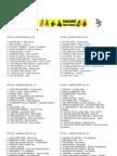 Lista de Karaoke Kantatu