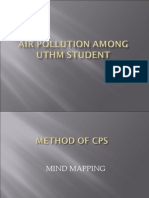 Air Pollution Among Uthm Student43