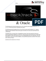Oracle Backtrack 3