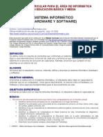 Curriculo Sistema Informatico