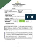 Estructura a Unificada Elect Gral Ambiente y Desarrollo 060811