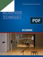 SHURE Recording Techniques