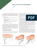 Texto de apoyo Tiempos Operatorios en Cirugía Bucal