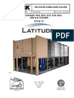 York Air Cooled Screw Liquid Chillers Style a Latitude