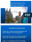 """Why Mormonism Can Abide Gay Marriage"" Brad Carmack Sunstone Presentation, 6 August 2011"