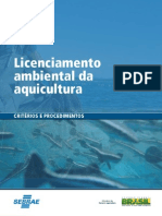 Licenciamento Ambiental Em Piscicultura
