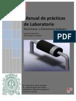Manual de Prcticas de Laboratorio-Electronica I- UdeA 2011-2