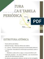AULA 3 - ESTRUTURA ATÔMICA E TABELA PERIÓDICA