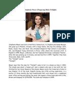 Biografi Stephenie Meyer.alhuSNI