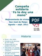 Campaña San José de Maipo- Yo te doy una Mano 11'