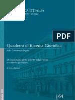 Enrico Galanti - Discrezionalità delle autorità indipendenti