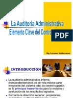 La Auditoria Ad. Elemento Clave Del Control Superior