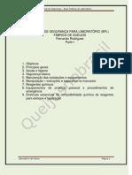 Manual de Segurança - BPL - Fábrica de Queijos