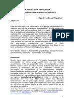 1. Martinez M Psicologia Humanista Nuevo Paradigma