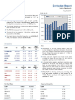 Derivatives Report 8th August 2011