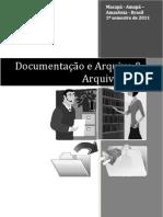 Apostilado de Arq e Doc & Arquivologia
