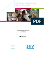 Sustainable Sanitation and Hygiene Programme Framework SNV Vietnam 2011