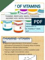 Assay of Vitamins