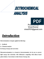 Photoelectrochemical by Vinod