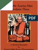 Acariya Mun Spiritual Biography