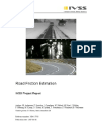 2007 Road Friction Estimation