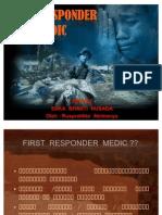 First Responder Medic