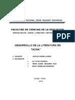 El ensayo en Tacna