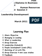 PGDBM Leadership Development