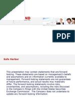 Investor - Mind Financial Presentation 2011 Q2