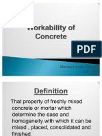 Lec 8 - Work Ability of Concrete