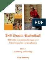 Skill Sheets Basketball Deel 2