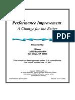 Perf Imp Change for Better 20050629