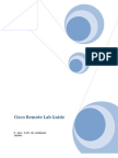 CCNA-CCNP Remote Lab Guide
