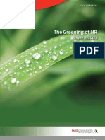 Greening of Hr