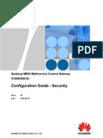 00479814-ME60 Configuration Guide - Security(V100R006C05_05)