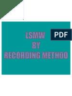 LSMW by Recording Method2