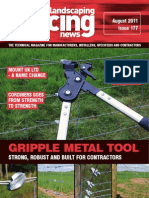 Fencing & Landscaping News August  2011