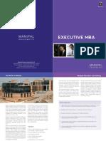 E MBA Brochure
