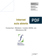 02 Internet Aulaabierta Conectar Routeradslwindows98 091122161358 Phpapp01