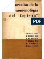Astrada-Ed-Valoracion de La Fenomenologia Del Espiritu-Hegel BOOK